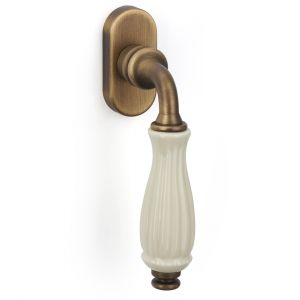 Dreh kipp yester bronze brass porcelain godiva classique