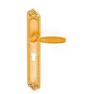 Maniglia su placca in oro 24kt Pasha Classique