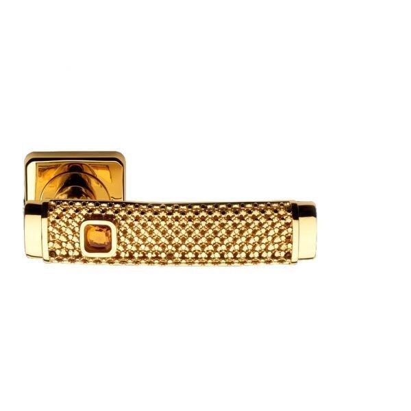 Maniglia su rosetta oro ambra Dream Jewellery