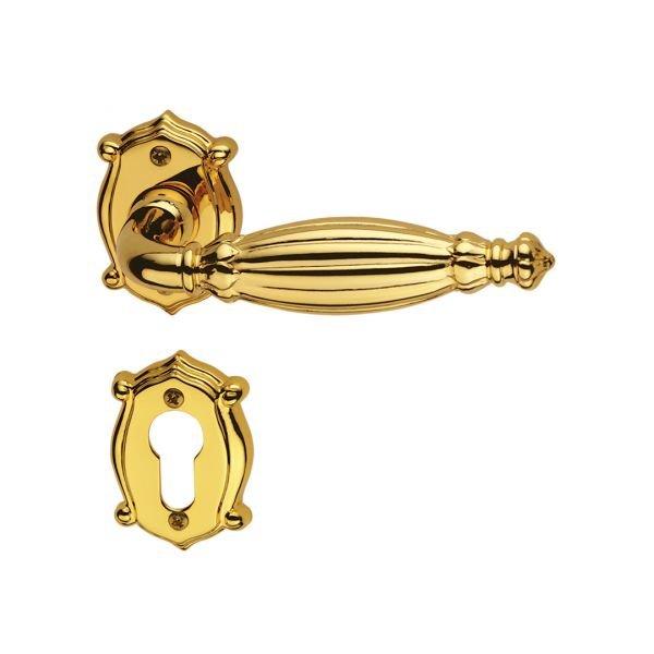 Handle on anubi rose gold 24 kts queen classique