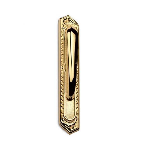 Maniglione su placca in oro 24kt Princess Classique