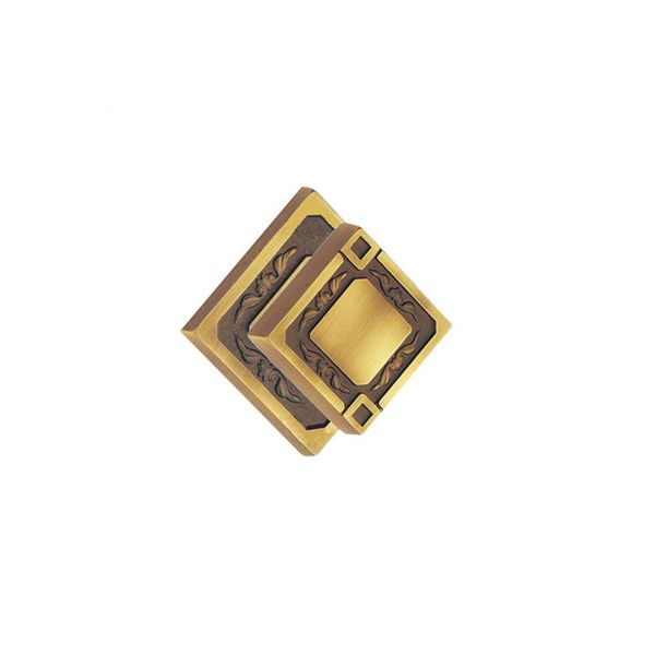 Knob in yester bronze brass King Classique