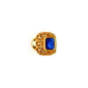 Pomolo in oro 24kt e zaffiro Dream Jewellery