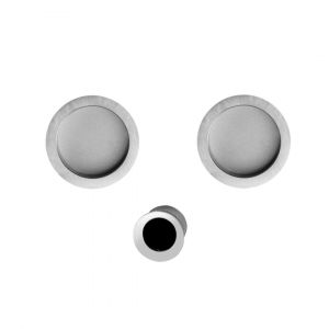 Kit flush handle satin chrome Agropoli blind i-Design