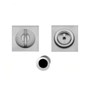 Kit flush handle satin chrome Gubbio i-Design