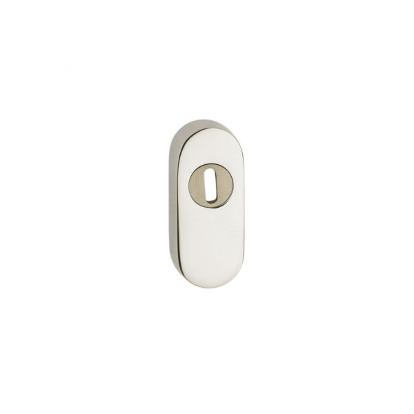 Bocchetta sicurezza ovale mm. 15 ottone